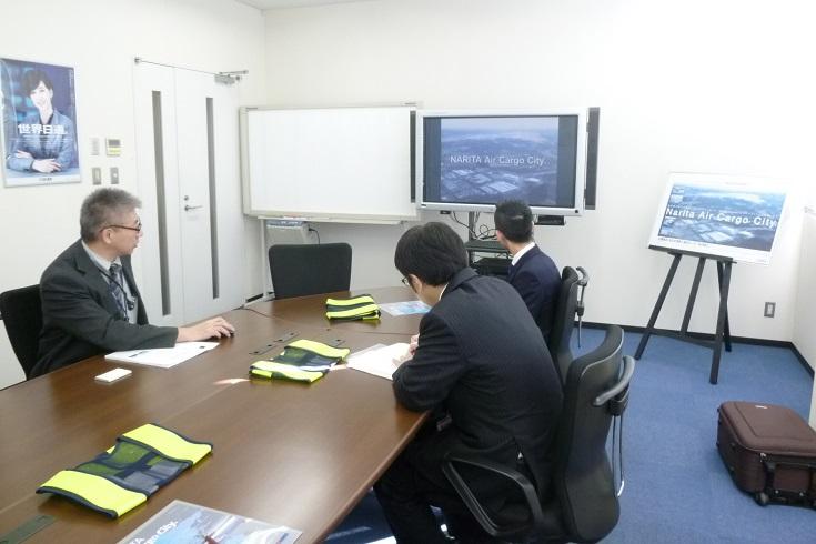 名護イーテクノロジー 成田現場研修